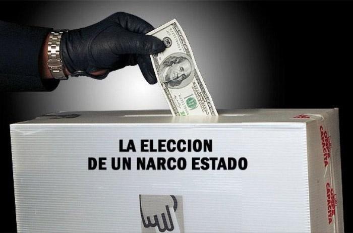 urna eleccion narco estado