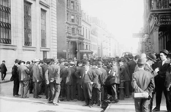 Socialistas en New York 16 Octubre 1908